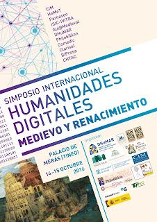 Humanidades Digitales Medievo y Renacimiento, DHUMAR