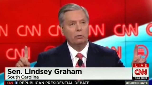 Lindsey Graham closing statement CNN debate