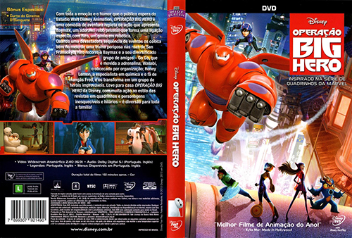 Operação Big Hero (Big Hero 6) Torrent - BluRay Rip