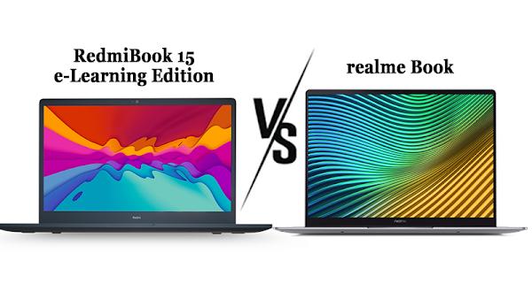 RedmiBook 15 Vs realme Book