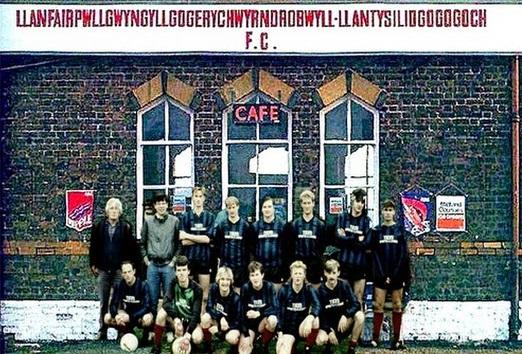 O time de futebol com o nome mais longo (Imagem: Reprodução/Internet)
