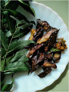 Neem leaves fritters