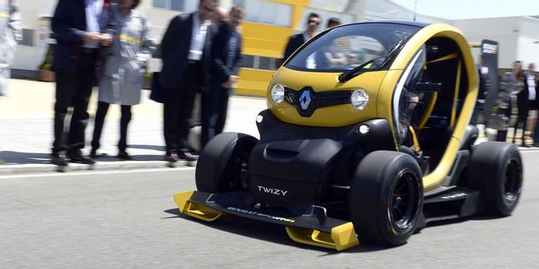 موديل Renault Twizy RS F1