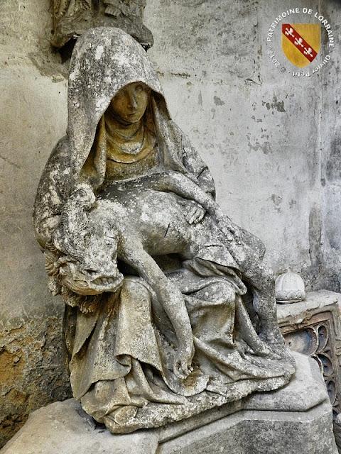 REMOVILLE (88) - Pietà (XVIe siècle)