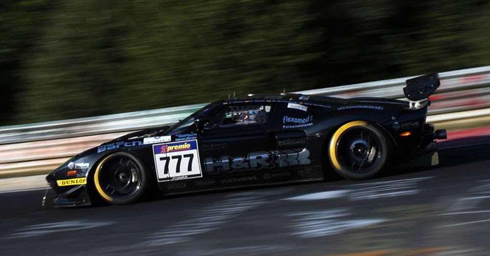 Ford Gt Clocks Record Nurburgring Lap Time Of 7 58 558