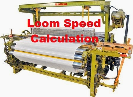 Loom speed calculation