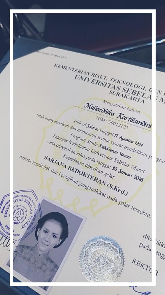 Officially Sarjana Mkartikandini Indonesia Beauty Blog