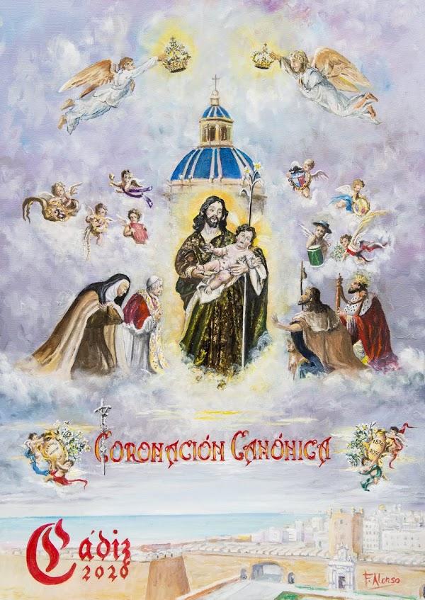 Cartel Coronación Canónica San Jose de Cádiz