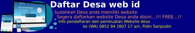 Daftar Desa di Indonesia
