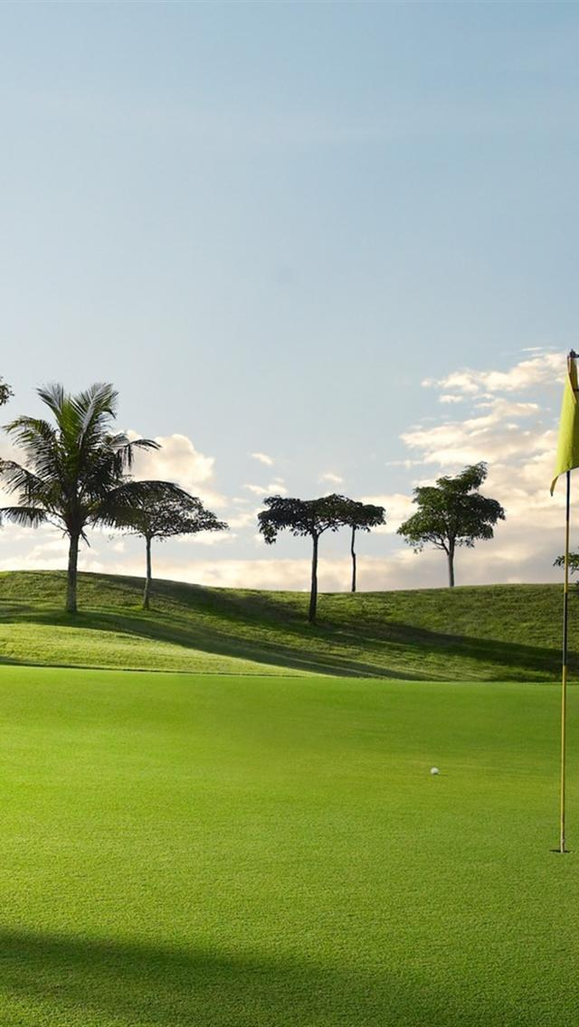 Iphone 5 Wallpapers Hd Golf Course Grass Iphone Wallpapers Hd