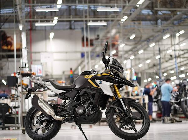 Nova BMW G 310 GS 2022 fabricada em Manaus chega em agosto
