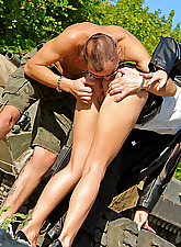 SEX IN OUTDOOR PLACE