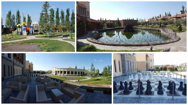 jardin Caucasus hotel Erevan