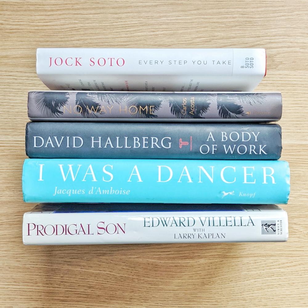 Autobiographies by male ballet dancers.
