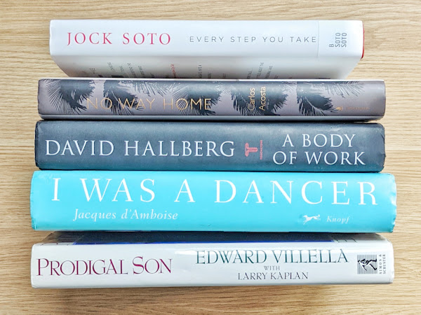 5 Books by Male Ballet Dancers