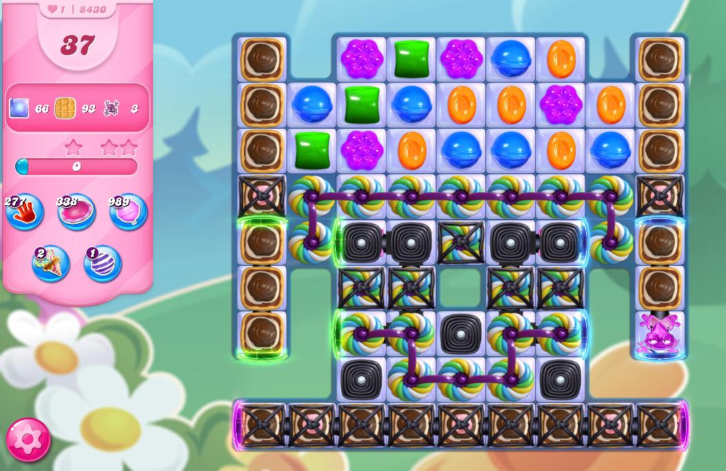 Candy Crush Saga level 8430