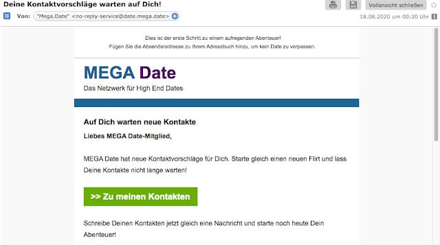 Screenshot:Email 18.08.2020 Mega Date
