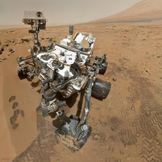 "The Curiosity rover played the song ""Happy Birthday"" on Mars in celebration of one year on the Red Planet."