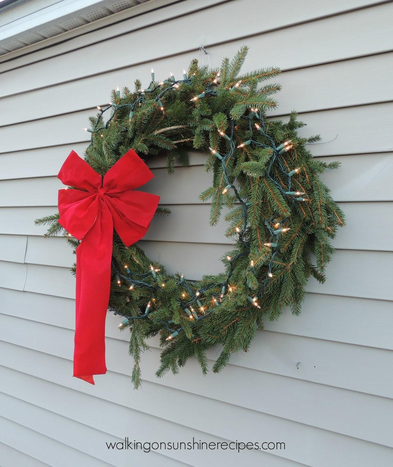 Holidays Make Your Own Christmas Wreath Walking On Sunshine