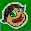 Buttercup Mini Canvas Magnet