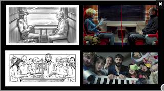 Ilustración de storyboards para cine y publicidad