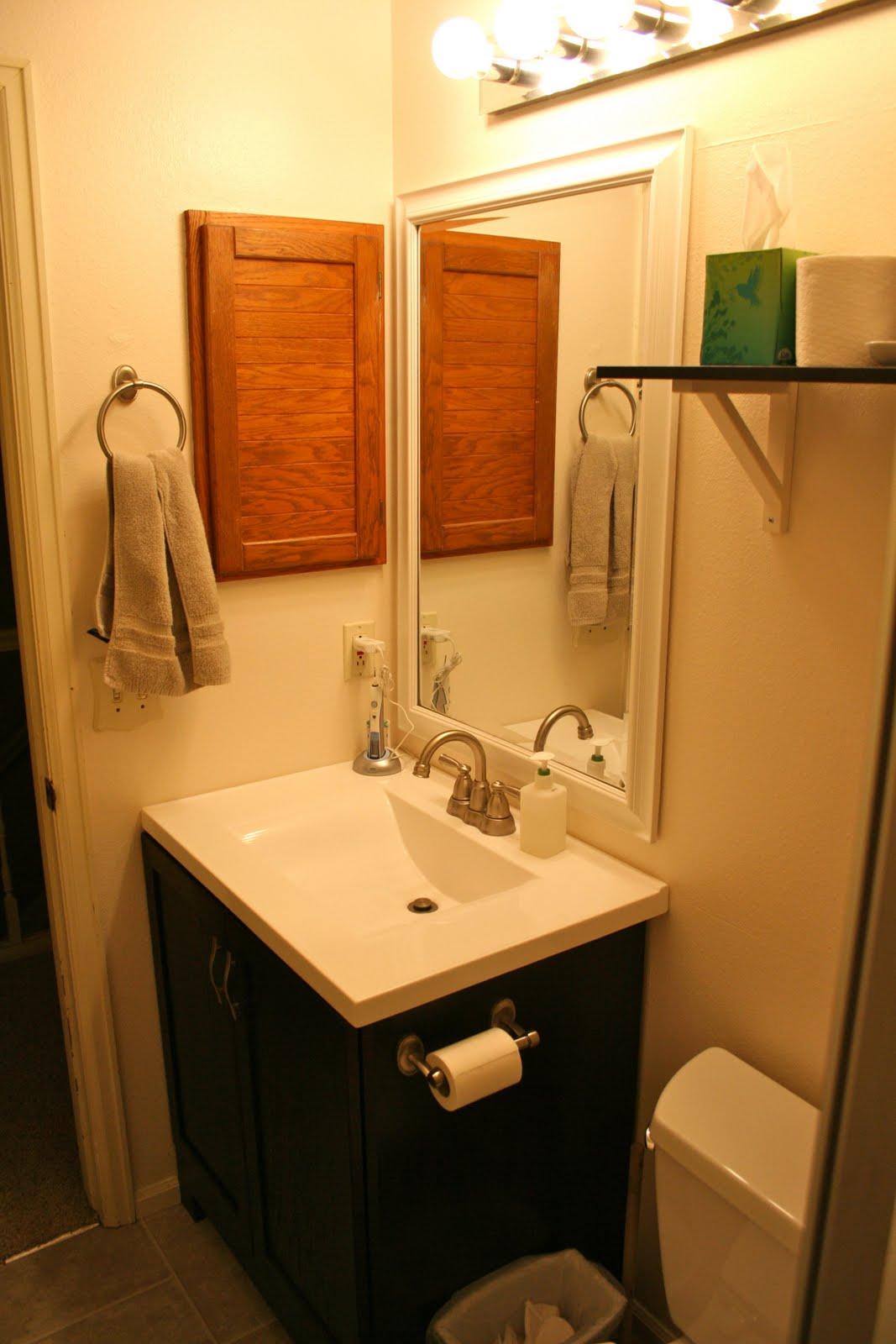 things we swear happened  DIY Bathroom Remodel
