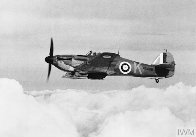 3 October 1940 worldwartwo.filminspector.com Hurricane RAF fighter