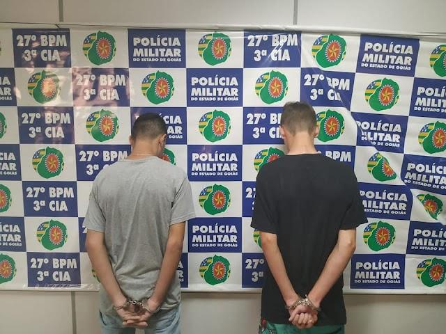 Bela Vista de Goiás: Menores são presos por tráfico