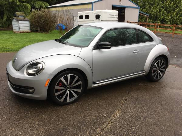 Up For Sale, VW Beetle Turbo 2012