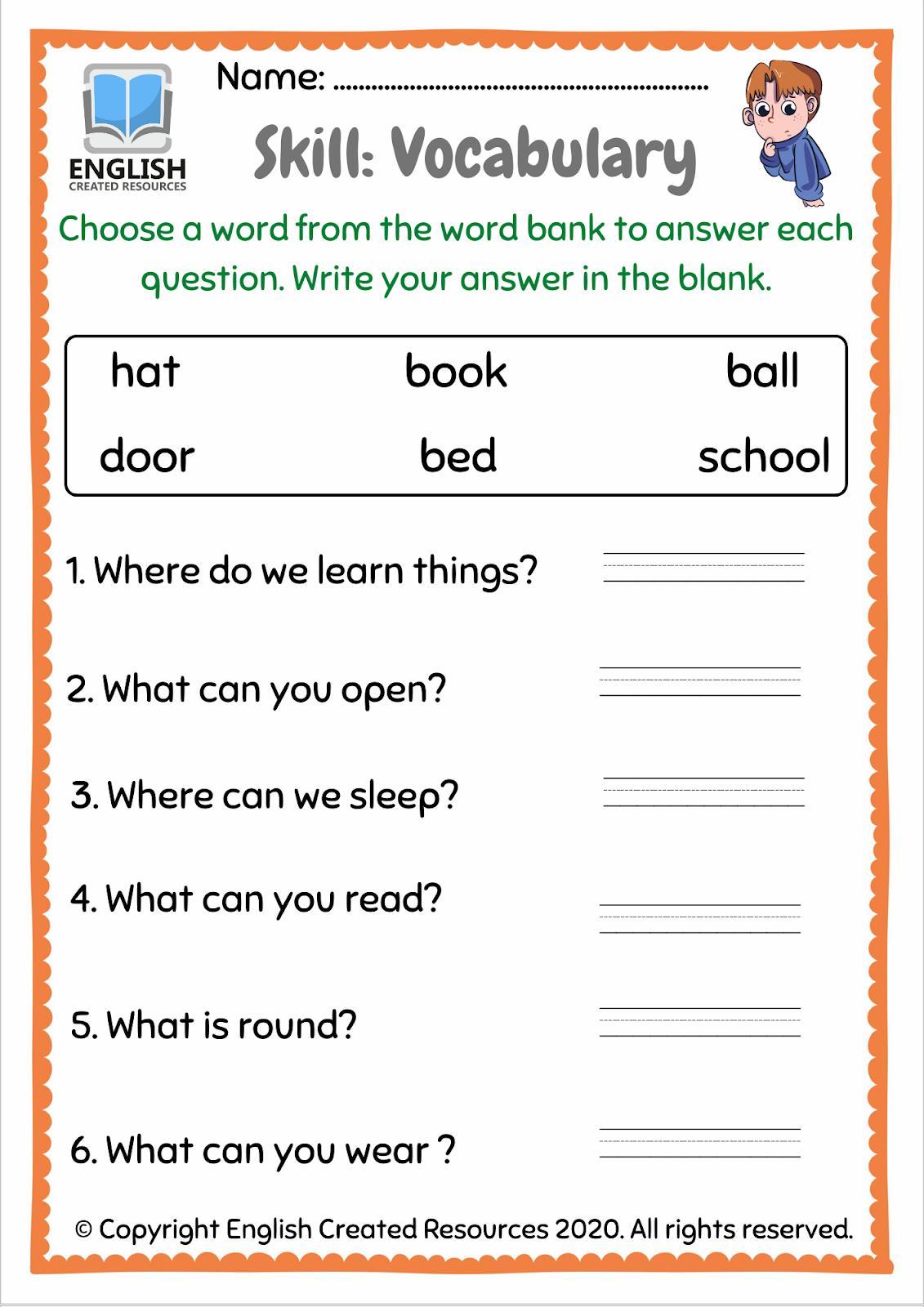 Basic Skills For Kids