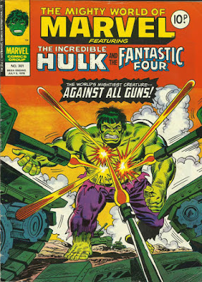 Mighty World of Marvel #301, the Incredible Hulk