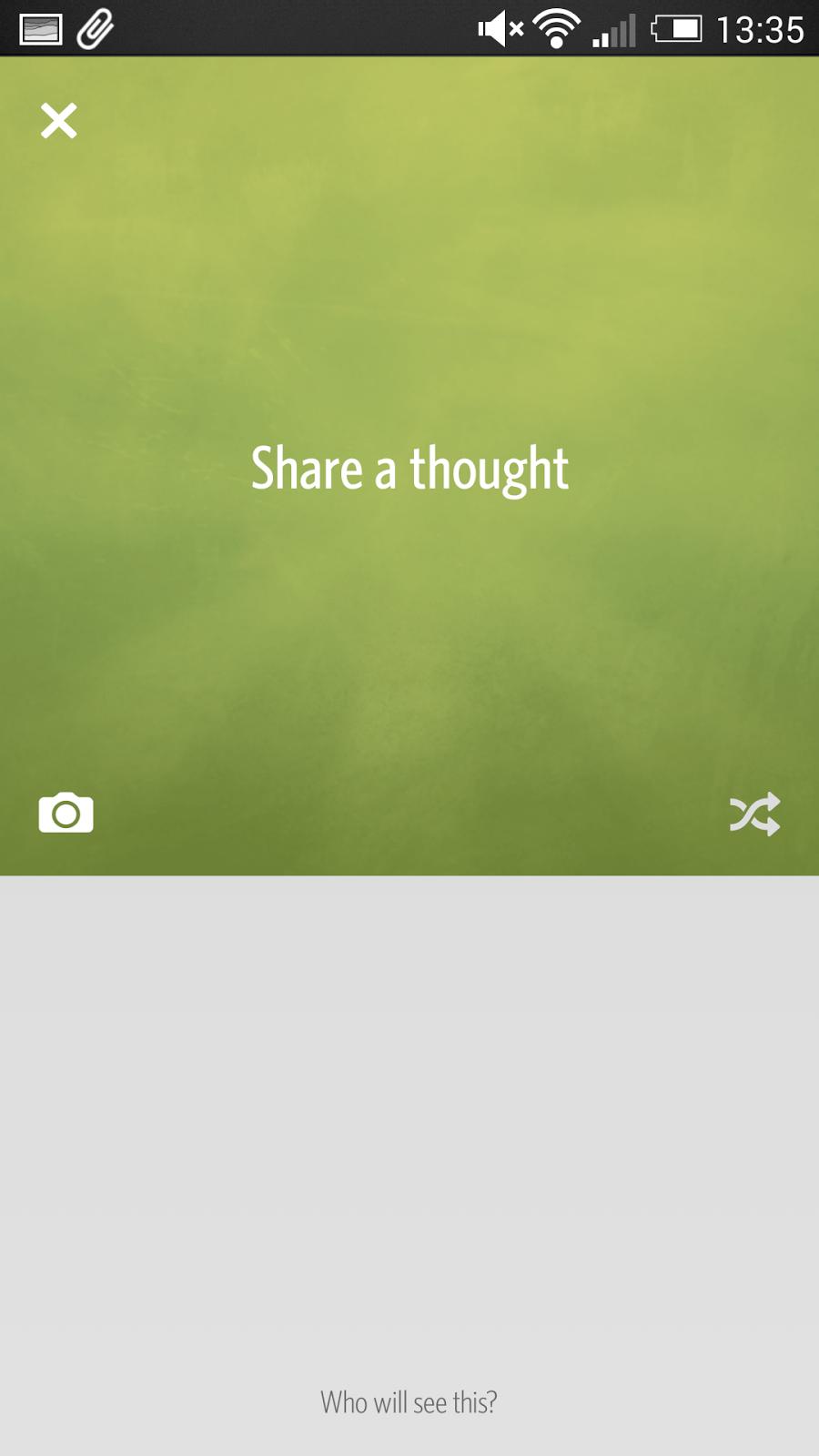 Secret 解除分享焦慮的社交 App ,對朋友匿名寫真心話 secret-10