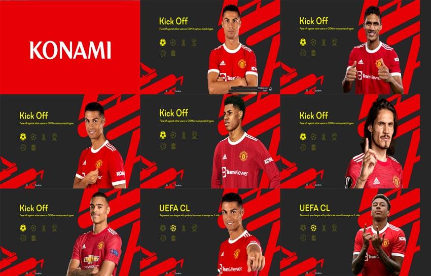 PES 2013 Manchester United Graphic Menu 2022