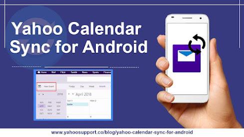 Yahoo calendar sync for Android