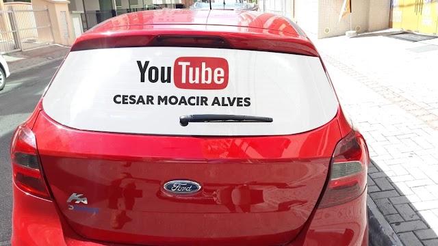 Youtuber César Moacir Alves