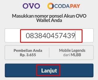 Nomor telepon pembayaran