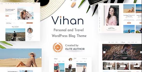 Vihan personal and travel wordpress blog