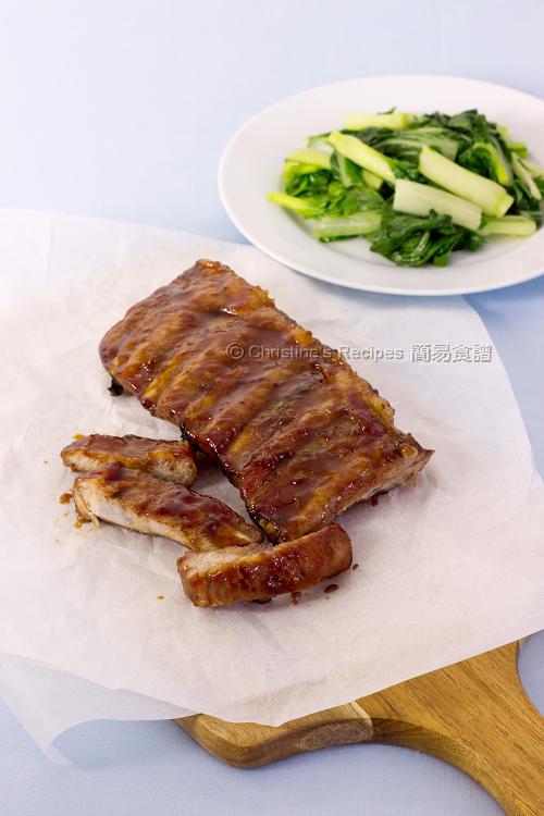 Sticky Baked Pork Ribs01