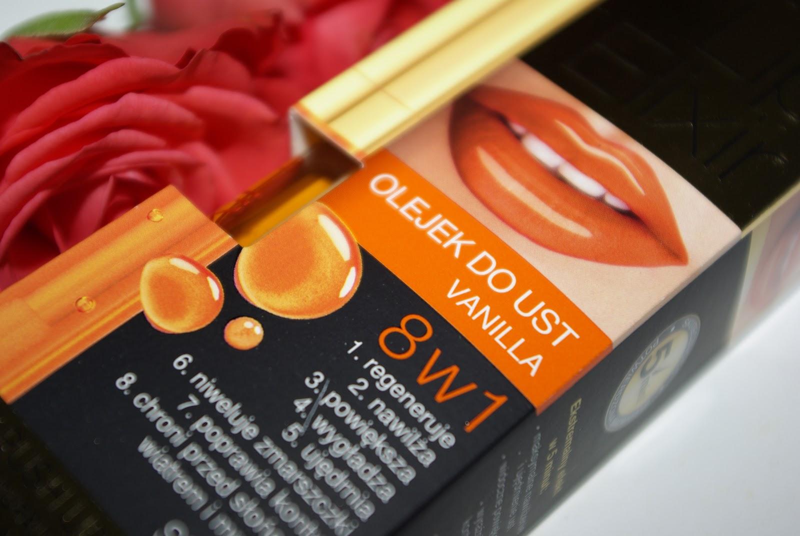 Olejek do ust Lip elixir vanilla - Eveline Cosmetics