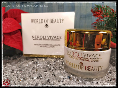 World Of Beauty – Neroli Vivace Overnight Mask