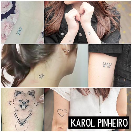 tatuagens karol pinheiro