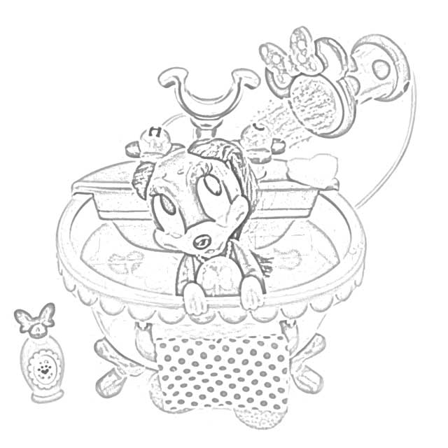 Clarice, Hermey and the toys coloring page printable game | 640x640