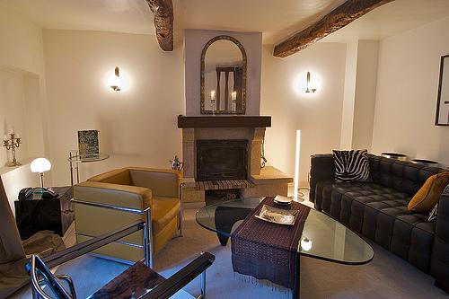 Interior Design - Modern living room lighting design decorating ideas