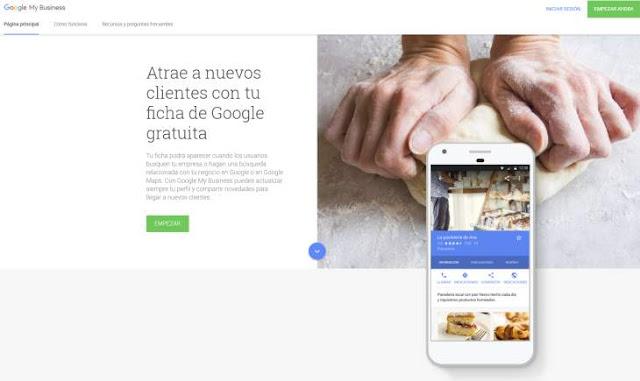 La nueva versión del panel de gestión de Google My Business
