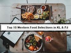 Top 10 Western Food Selections in KL & PJ