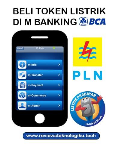 cara membeli token listrik di m banking bca