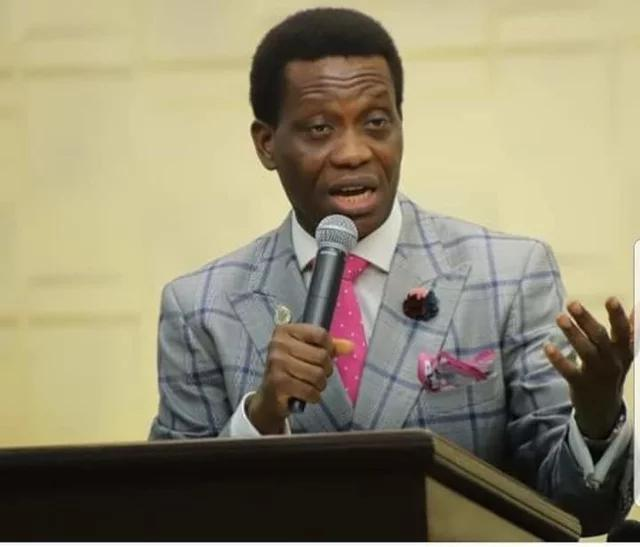 Adeboye of Redeem lost son, Dare.