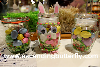 March 2017 DIY Easter Treat Jars Workshop, Cost Plus World Market Brooklyn, NY