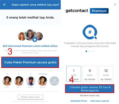 Cara Get Contact Premium Gratis
