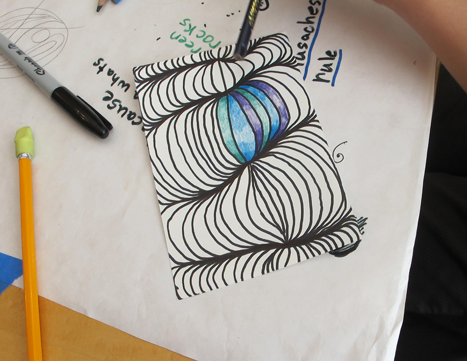 Cool Colorful Sharpie Drawings